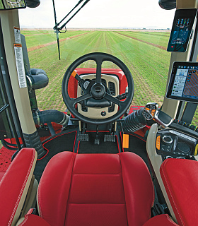 Case IH запускает новую серию тракторов AFS Connect Steiger